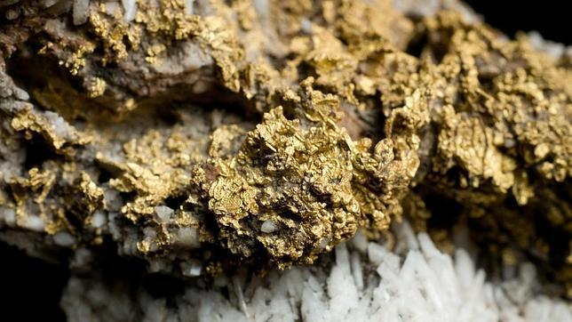Los terremotos crean oro en un instante