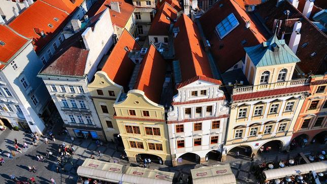 Praga desde la Torre del Reloj