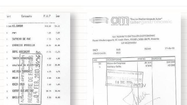Alfaz del Pi autoriza a sus concejales comidas de 300 euros
