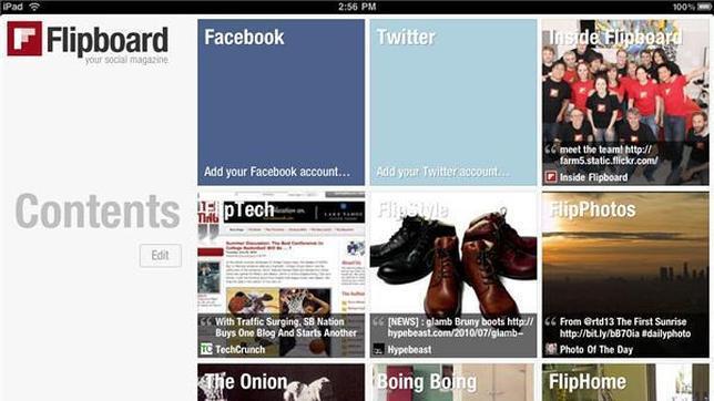 Flipboard ya permite a los usuarios crear sus propias revistas