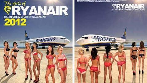 Demandan a Ryanair por publicidad sexista