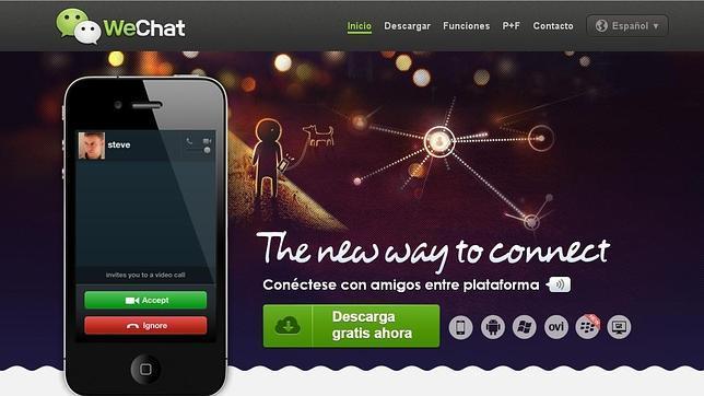 WeChat, rival de WhatsApp, permitirá localizar nuevos amigos y conocidos