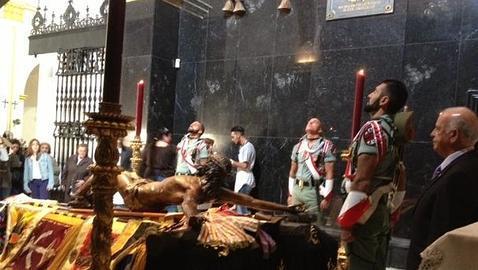 Málaga y El Cristo de la Buena Muerte: Pasión castrense
