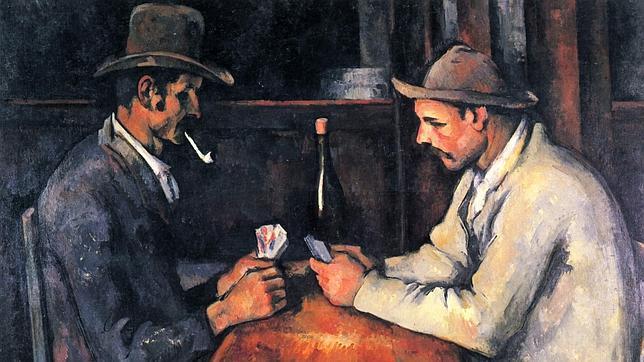 «Los jugadores de cartas»