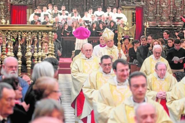 El Obispado plantea una procesión magna para cerrar el Año de la Fe