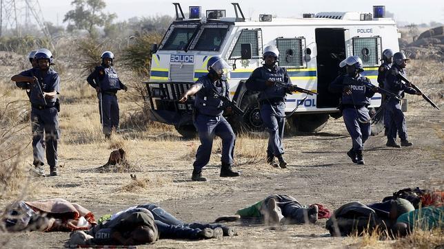 La violencia se hace endémica en Sudáfrica