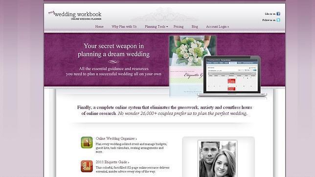 Diez recursos «online» para planificar tu boda
