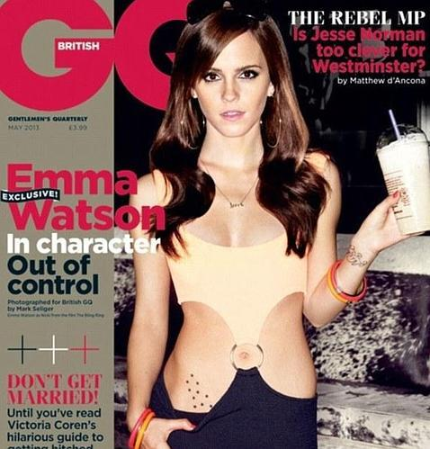 Emma Watson posa a lo «Pretty Woman» para la revista «GQ» - ABC.es