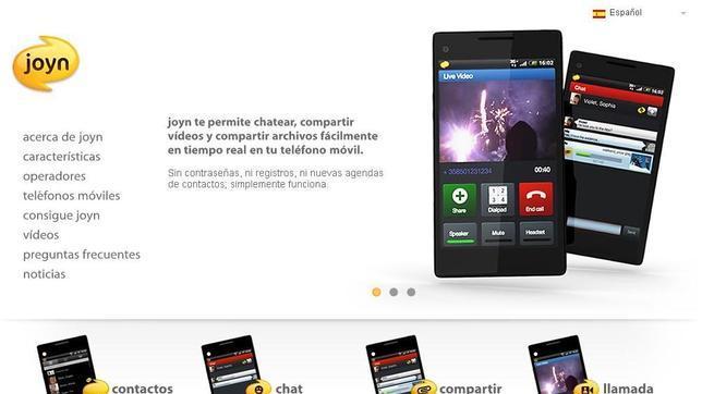 Llegan los primeros terminales con Joyn, el Whatsapp de las operadoras