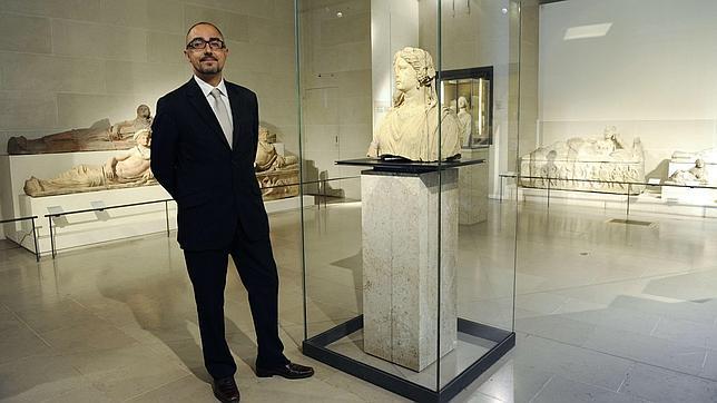 Jean-Luc Martínez, fotografiado en el Louvre en agosto de 2011