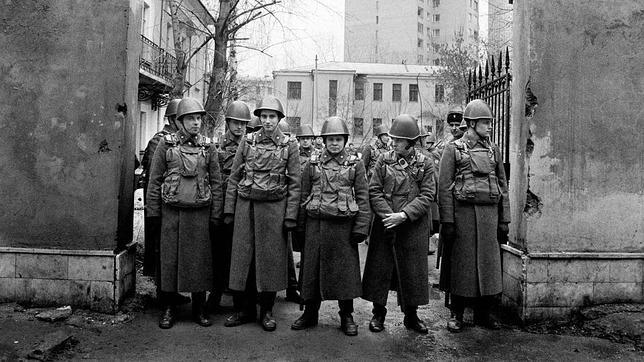 Soldados de guardia
