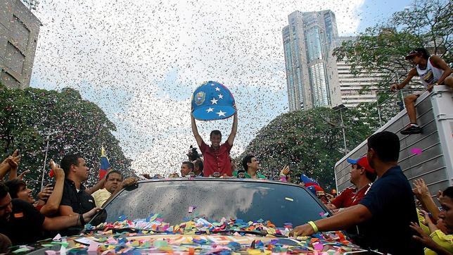 Henrique Capriles acusa a Nicolás Maduro de ser el «enchufado mayor»