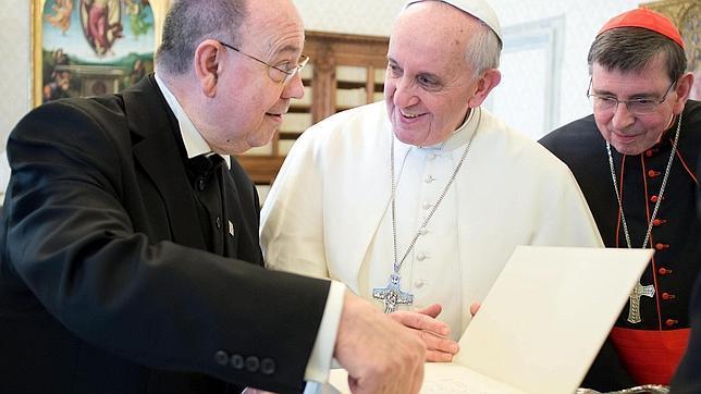 Primera visita de un líder protestante al Papa Francisco