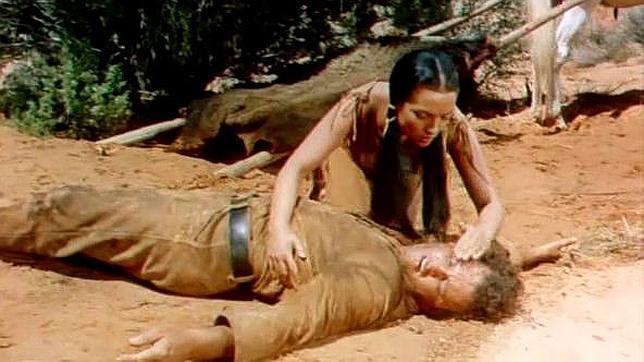 Sara Montiel salva la vida a Rod Steiger en «Yuma»