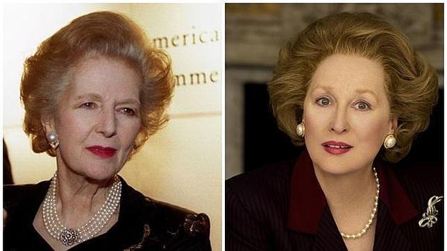 Una televisión de Tailandia anuncia la muerte de Thatcher con una foto de Meryl Streep