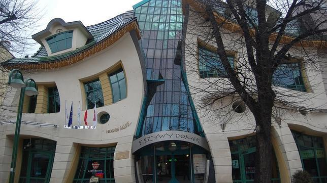 The Crooked House, en Sopot (Polonia)