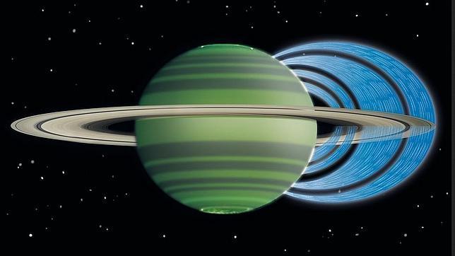 Descubren que cae lluvia desde los anillos de Saturno Saturno-anillos-llueve--644x362