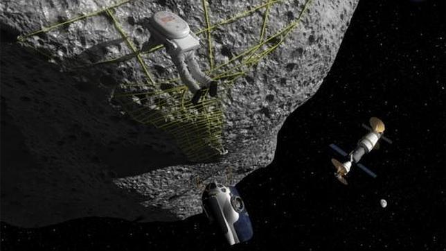 Así arrastrará la NASA un asteroide hasta la Tierra