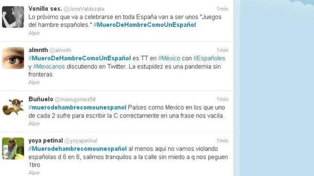 #MueroDeHambre como un español, el Trending Topic Mundial que viene de México