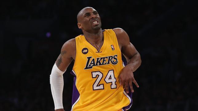Kobe Bryant, con rotura del tendón de Aquiles, baja entre 6 y 9 meses