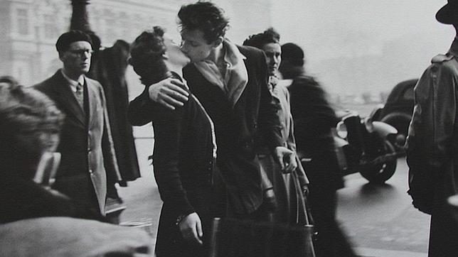 El beso del Ayuntamiento en París, 1950