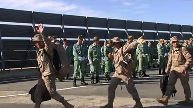 Llega el grueso del contingente español destinado a la misión de la UE en Malí