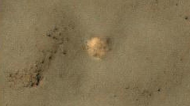 Creen haber descubierto los restos de una nave soviética en Marte