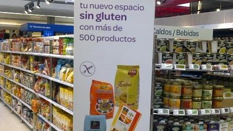 Productos básicos sin gluten a 1 euro