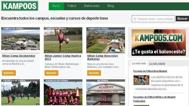 Kampoos.com, una herramienta para los pequeños clubes de fútbol