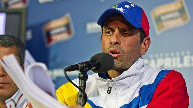 Henrique Capriles pide a España no dejarse amedrentar por Maduro