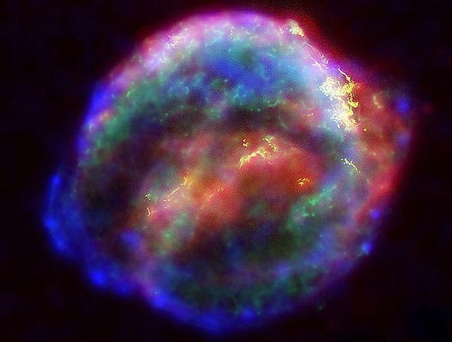 Supernovas, la mayor catástrofe del Universo