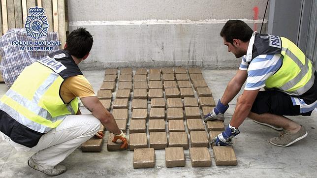 Cuatro de cada diez kilos de cocaína intervenidos en Europa se confiscan en España