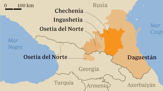 Al Qaida extiende sus redes por las montañas del Cáucaso