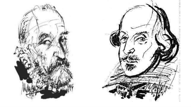 Shakespeare, Cervantes y el error del Día del Libro