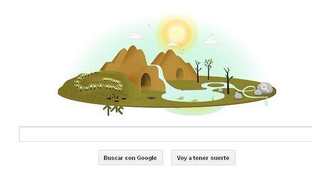 El Día de la Tierra 2013 convierte Google en un bucólico paisaje