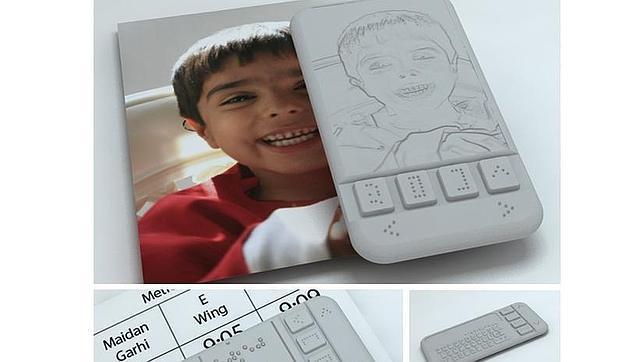 Braille Phone, el primer «smartphone» para invidentes