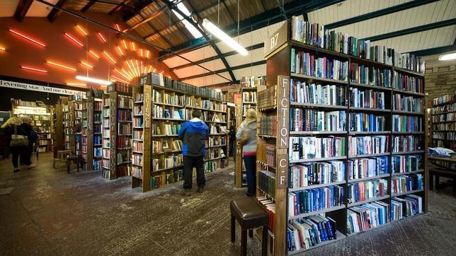 La vieja estación de Alnwick, reconvertida en librería