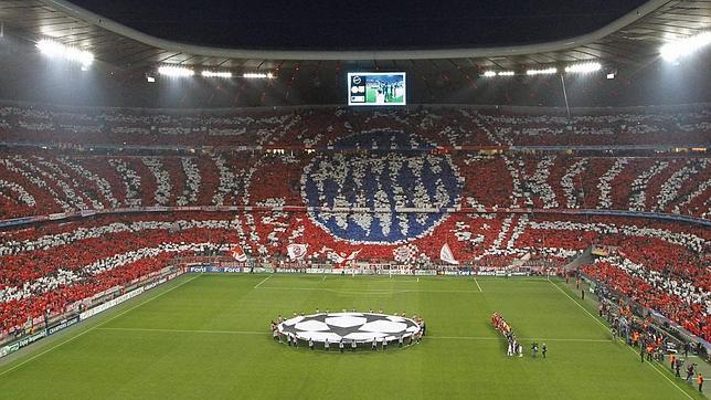 Las aficiones de Alemania se han apuntado a los tifos, como la del Bayern de Múnich