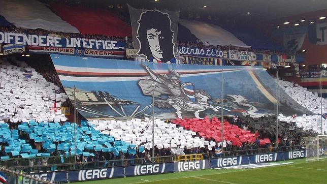 El ambiente antes de los derbis resulta espectacular en cualquier estadio europeo