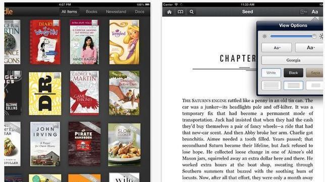 Las aplicaciones móviles para descargar y leer libros