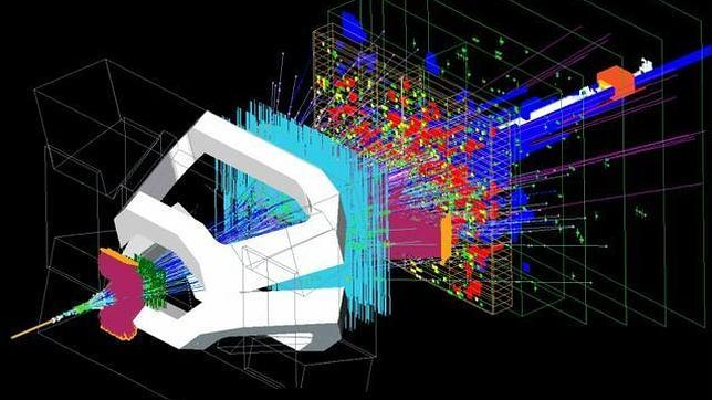 Resultado de imagen para El LHC da una nueva ventaja a la materia
