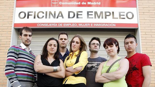 Jóvenes desempleados