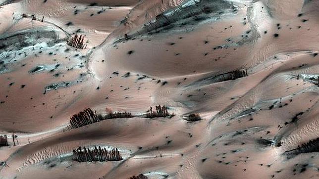 Las cosas más extrañas vistas en Marte.