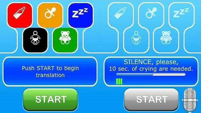 CryTranslator, una «app» para descifrar el llanto de los bebés