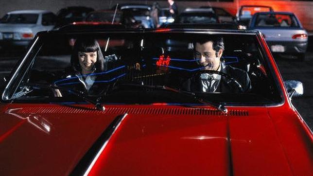 Hallan el descapotable de Pulp Fiction, que robaron a Tarantino hace 17 años