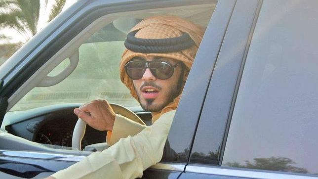 Omar Borkan Al Gala, abrumado por su éxito en internet