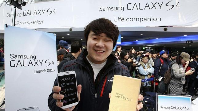 El Samsung Galaxy S4 ya está a la venta