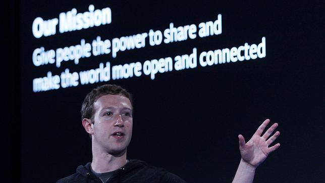 El presidente de Facebook, Mark Zuckerberg
