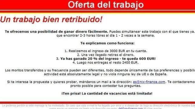 Ofertas de empleo en Madrid hoy