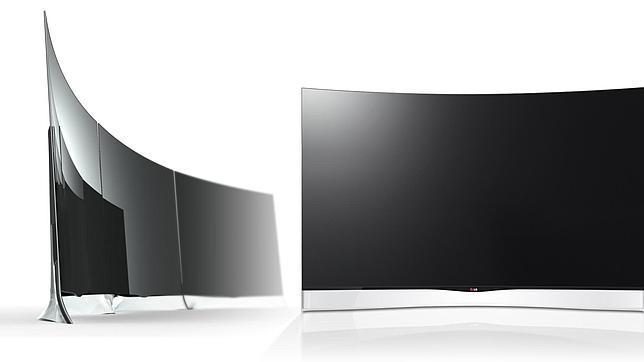 Televisores LG OLED HDTV con pantalla curva